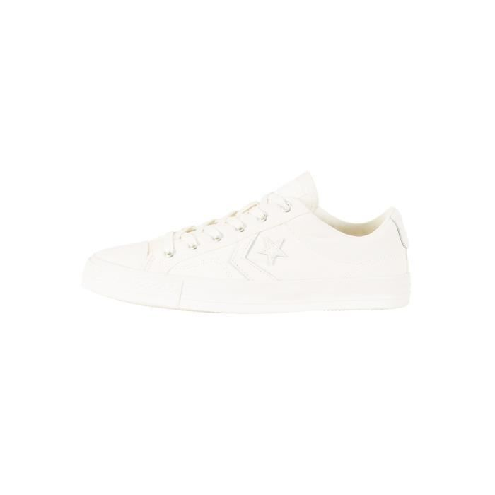 Converse Homme Star Player OX Trainers, Blanc