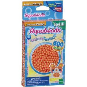 AQUABEADS Perles Classiques Orange
