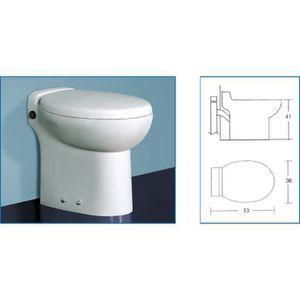 WC - TOILETTES WC avec broyeur incorporé TECHNO FLUX 53