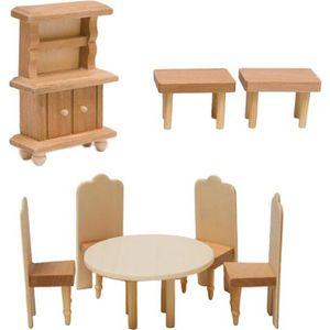 mobilier pour maison de poupee achat vente jeux et. Black Bedroom Furniture Sets. Home Design Ideas