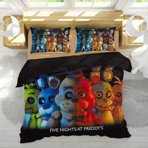 PARURE DE DRAP Five Nights at Freddy's Parure de lit 3 pièces de
