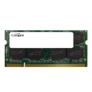 MÉMOIRE RAM 2Go RAM PC Portable SODIMM UNIGEN UG25T640GM8SU-8C