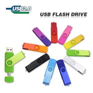 CLÉ USB 128 GO Clé usb OTG en couleur(violet)pour PC et ph