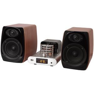 AMPLI HOME CINÉMA MADISON MAD-TA15BT Système audio à tube vintage 2x