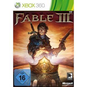 JEU XBOX 360 Xbox 360 - Fable III