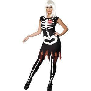 deguisement squelette femme achat vente jeux et jouets pas chers. Black Bedroom Furniture Sets. Home Design Ideas