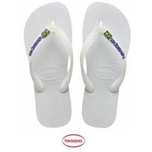 TONG Tong Havaianas Brasil Logo White...