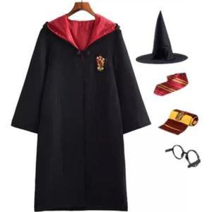 DÉGUISEMENT - PANOPLIE Harry Potter Costume Déguisement Robe Cape avec Cr