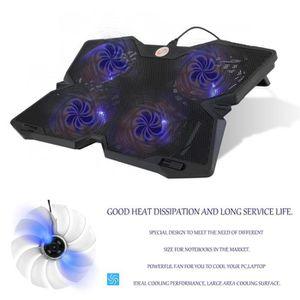 VENTILATION  Refroidisseur pc portable 4 ventilateurs support o