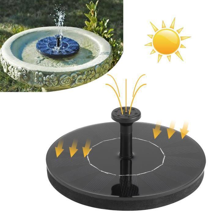 Pompe de fontaine à énergie solaire de jardin - Achat / Vente pompe ...