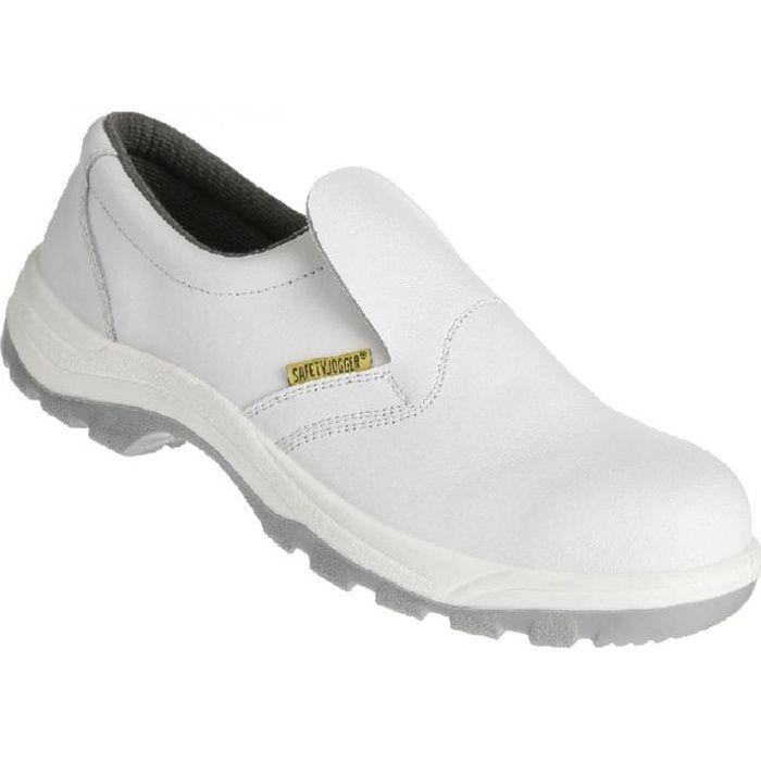 chaussures de cuisine de s curit blanc achat vente chaussures de securit cdiscount. Black Bedroom Furniture Sets. Home Design Ideas