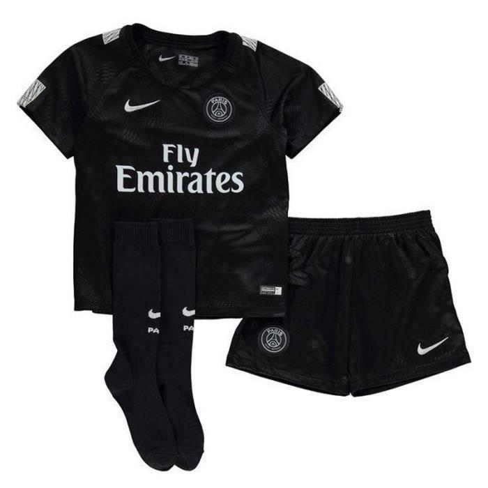 Nouveau Mini-Kit Officiel Enfant Nike Third PSG Paris Saint-Germain ... 55288781bf3
