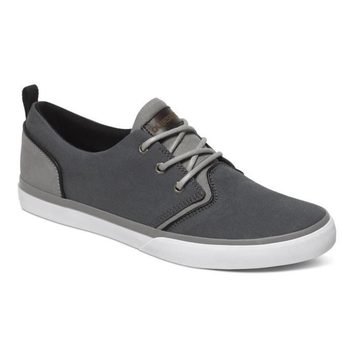 QUIKSILVER Griffin Canvas Chaussure Homme - Taille 44 - GRIS vihz49vT