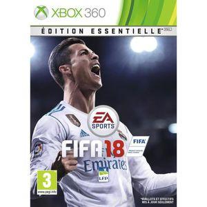 JEUX XBOX 360 FIFA 18 Edition Essentielle Jeu Xbox 360