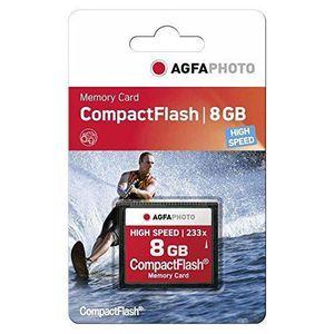 CÂBLE AUDIO VIDÉO AgfaPhoto Carte MLC Compact Flash CF 8 Go, 120 x