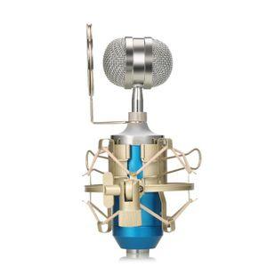 ENCEINTES ORDINATEUR Microphone à condensateur Uni-directionnel-Bleu