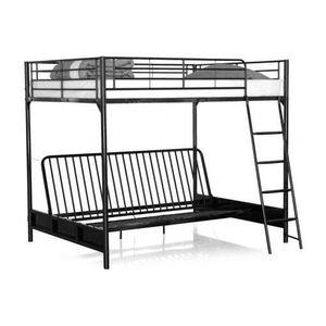 lit mezzanine achat vente lit mezzanine pas cher. Black Bedroom Furniture Sets. Home Design Ideas