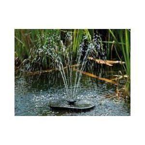 Fontaine de bassin solaire et flottante - Achat / Vente fontaine de ...