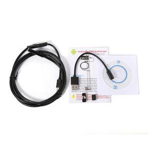 ENDOSCOPE NUMÉRIQUE 5.5 mm 5M Caméra 6 Inspection Endoscope étanche LE