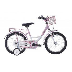 VÉLO ENFANT Vermont Girly - Vélo enfant 16 pouces - blanc/rose