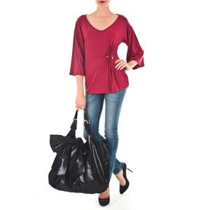 T-SHIRT Top Stag Miss Sixty Rouge ...