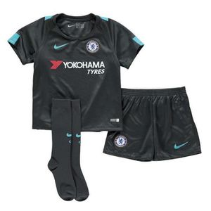 MAILLOT DE FOOTBALL Nouveau Mini-Kit Officiel Enfant Nike Third Chelse