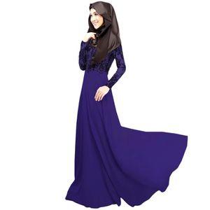 ROBE Robe G3710 Violet Taille XL Nouveau Longueue en de