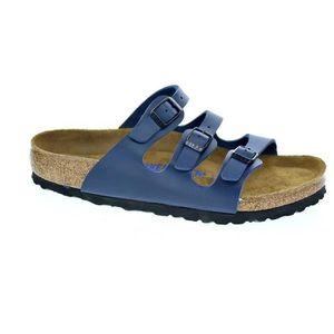 SANDALE - NU-PIEDS Sandales - Birkenstock Florida  Femme  Bleu