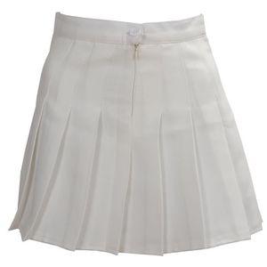 ca994f6e70f563 Jupe plissee blanche - Achat / Vente pas cher