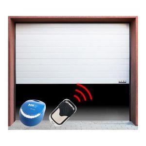 Porte de garage achat vente porte de garage pas cher cdiscount - Porte de garage sectionnelle 200 300 ...