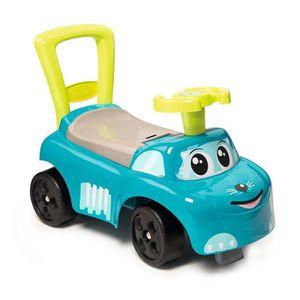 PORTEUR - POUSSEUR SMOBY Porteur Enfant Auto Bleu