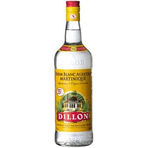 RHUM DILLON Rhum Blanc - 100cl - 55%