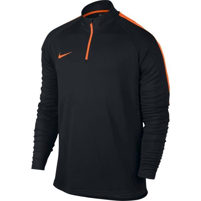 nouveau produit fb02b f85d2 NIKE Sweat de football Dry Academy - Homme - Noir