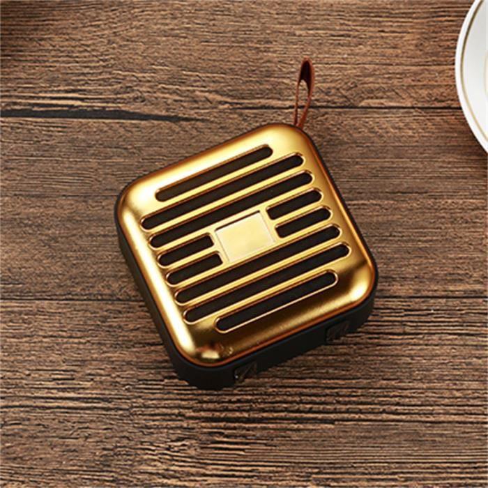 Thanksgi® Portable Extérieur Sans Fil Bluetooth 4.2 Tf Haut-parleur Pour Smartphone Portable_2130
