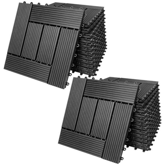 terrasse en bois composite achat vente pas cher. Black Bedroom Furniture Sets. Home Design Ideas