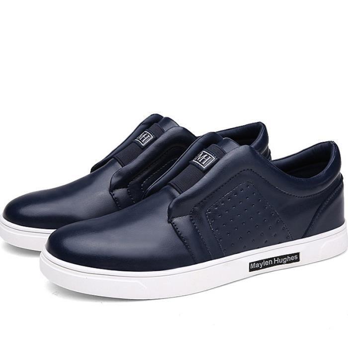 Chaussures Tendance Mocassins coréenne Mode pour hommes doux Confortable
