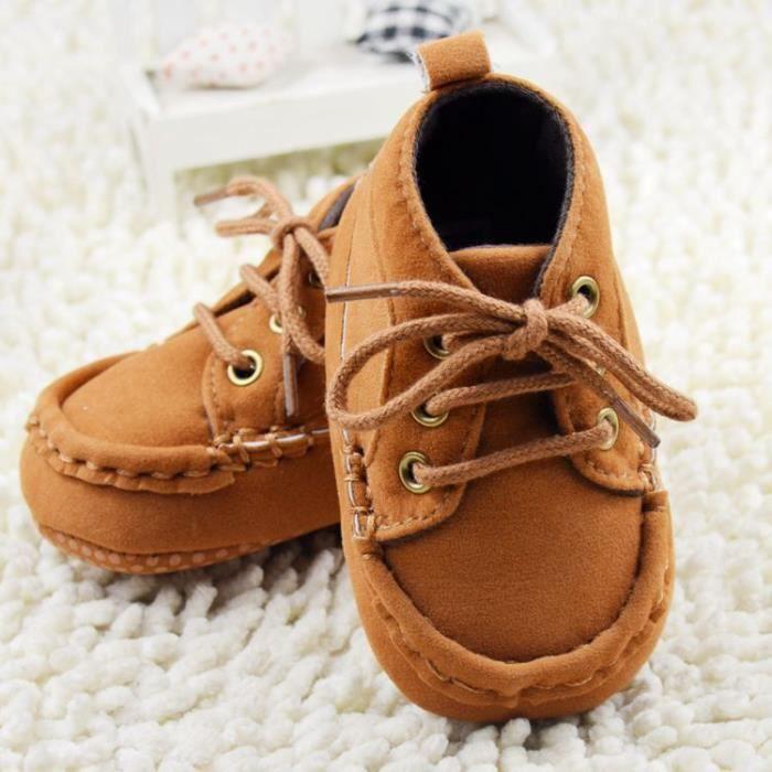 Automne et hiver Chaussures de bébé mode Tendance Loisirs Fond mou Chaussures de bébé