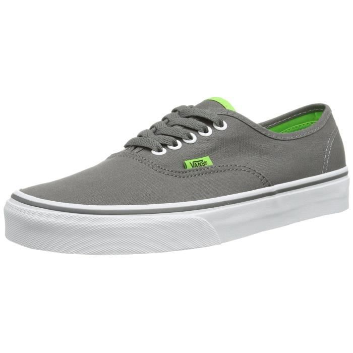 Unisexe Authentic Gris Casual 38 41010105 AnthraciteVert Vans Chaussures 2 Taille H9gat 1 rdoBCxe