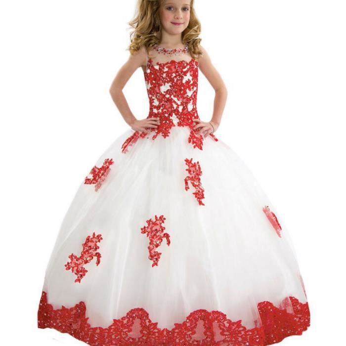 14585943f10 Robe de mariee avec perle et dentelle en tulle - Achat   Vente pas cher