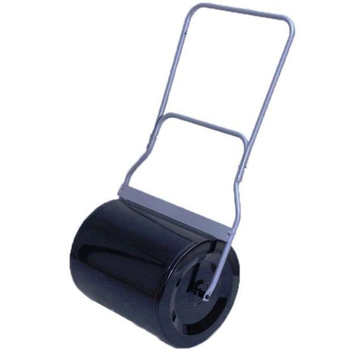 rouleau de jardin pousser acier largeur 5 achat vente rouleau gazon cdiscount. Black Bedroom Furniture Sets. Home Design Ideas
