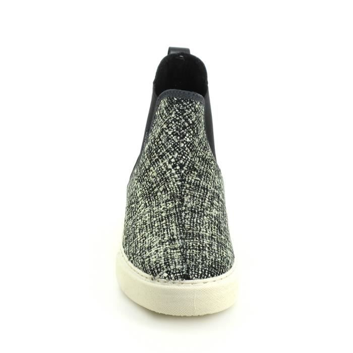 Victoria Chiné BasketmodeSneakers Gris Boots 125048 NOX80wnPk