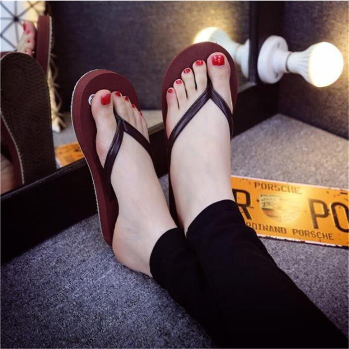 bain pantoufle plage femme chaussure Poids femme Antidérapant de sandales Grande femmes pantoufles de salle tongs Léger Taille TAnFSHqwY
