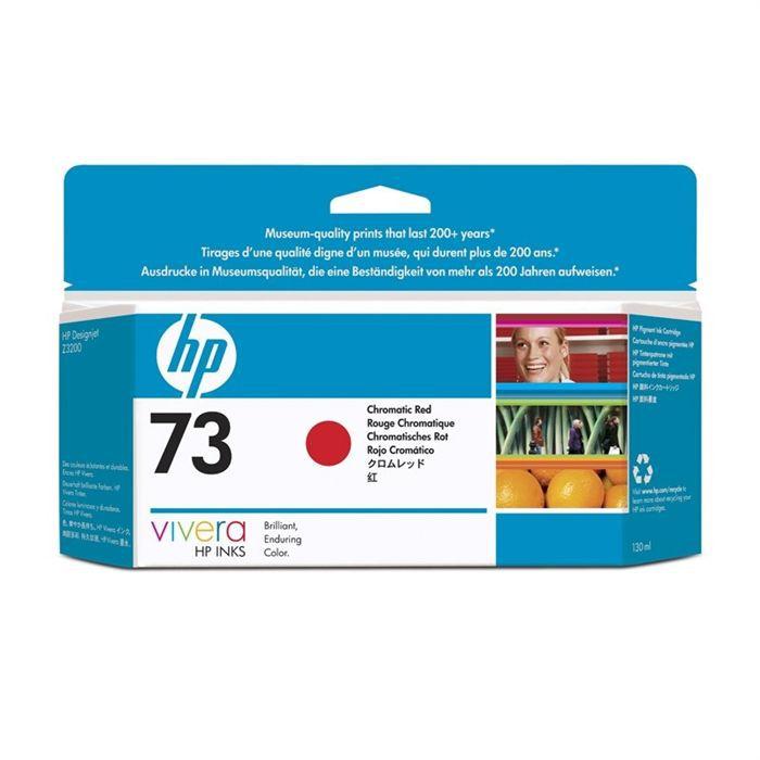HP Pack de 1 Cartouche d'encre 73 - Chromatique rouge - 5 ml