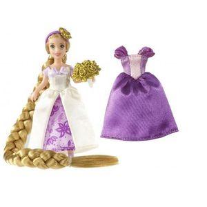 POUPÉE Princess Raiponce + accessoires - Assortiment