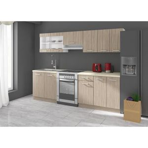 cuisine compl te avec lectrom nager achat vente. Black Bedroom Furniture Sets. Home Design Ideas