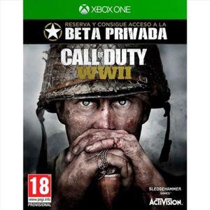 JEU XBOX ONE Call Of Duty: Wwii XBOX ONE - 126010