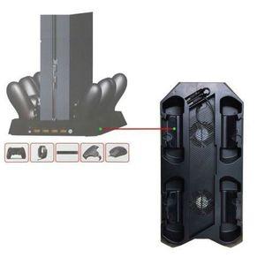 VENTILATEUR CONSOLE PS4 Host support de ventilateur + PS4 Poignée Char