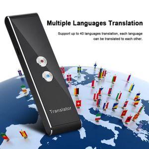 TRADUCTEUR ÉLECTRONIQUE Traducteur vocal multilingue simultané en temps ré