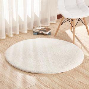 tapis rond 120cm achat vente pas cher. Black Bedroom Furniture Sets. Home Design Ideas