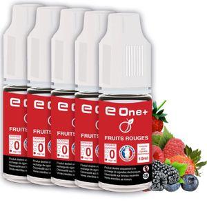 LIQUIDE 5 E-Liquides 10ml FRUITS ROUGES 5 mg/ml fabricatio